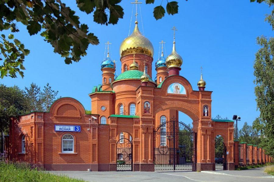Храм Серафима Саровского фото