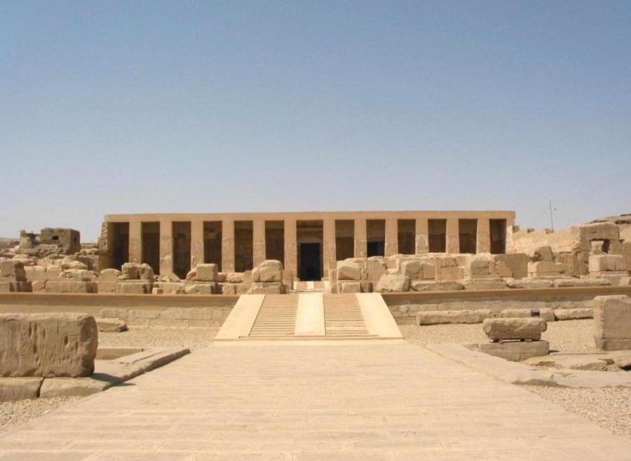 Храм Сети в Абидосе фото