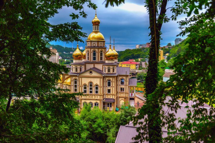Храм Святой Равноапостольной княгини Ольги фото