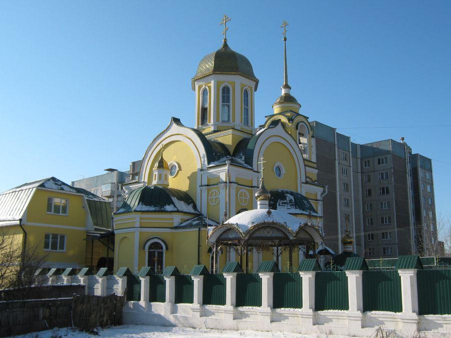 Храм в честь Андрея Первозванного фото