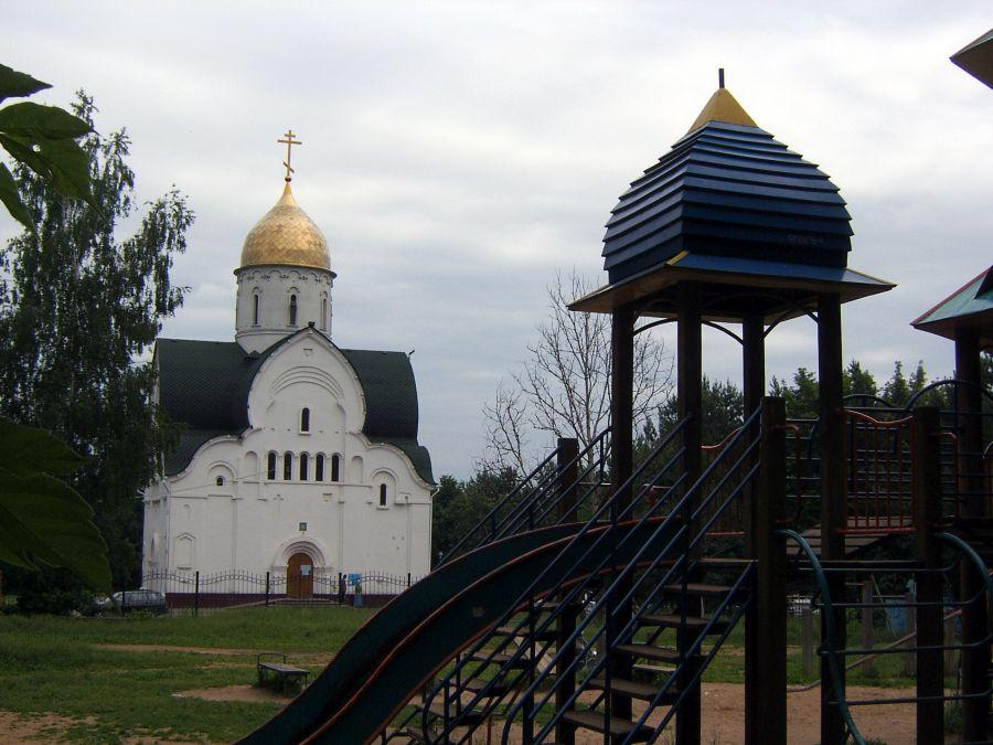 Храм Владимирской Оранской иконы Божией Матери фото