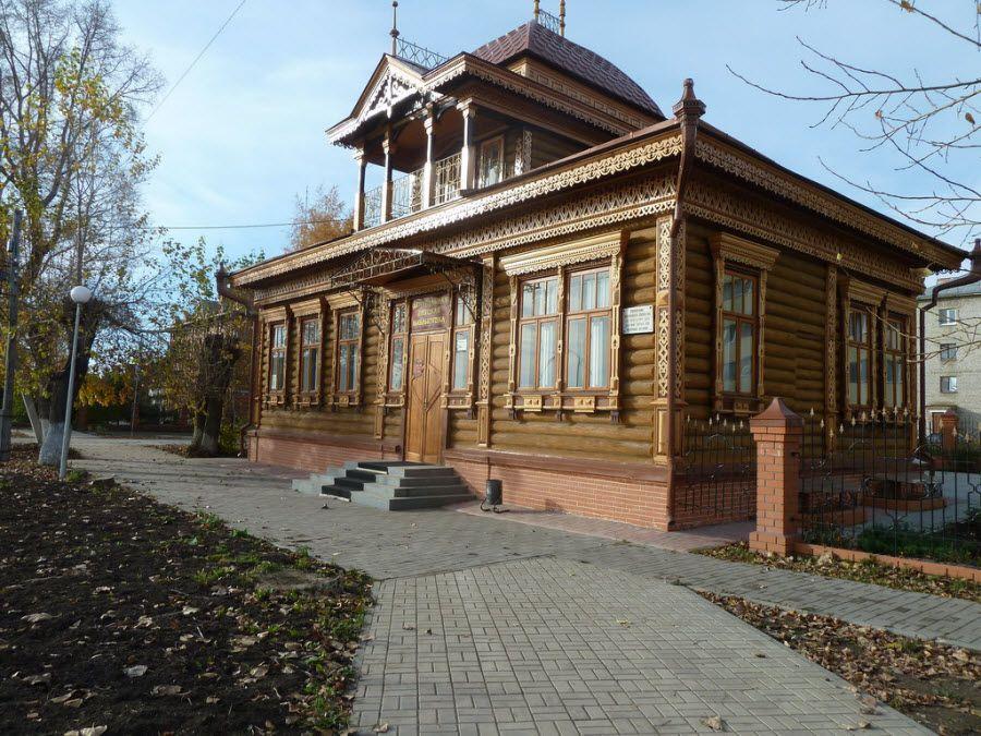 Архитектура города Ишим в Тюменской области фото