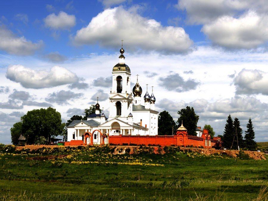 Фото красивого храма Ивановской области