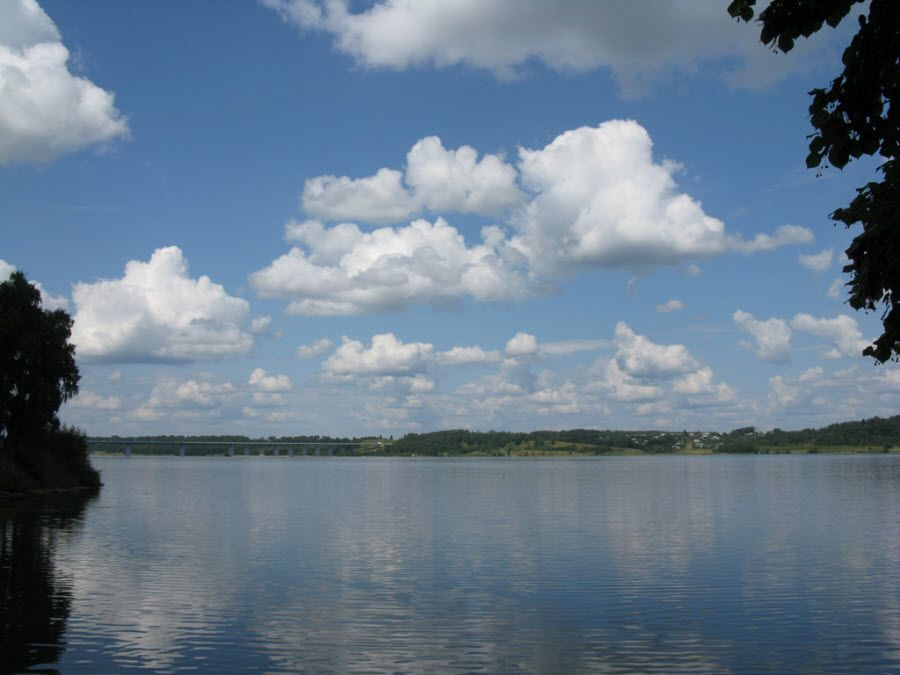 Панорама озера Ивановской области фото