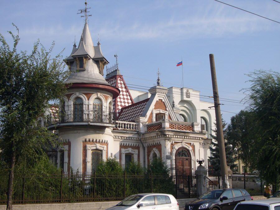 Фото Особняк Клодта в городе Самара. Россия