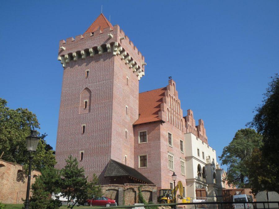 Королевский замок в Познани фото