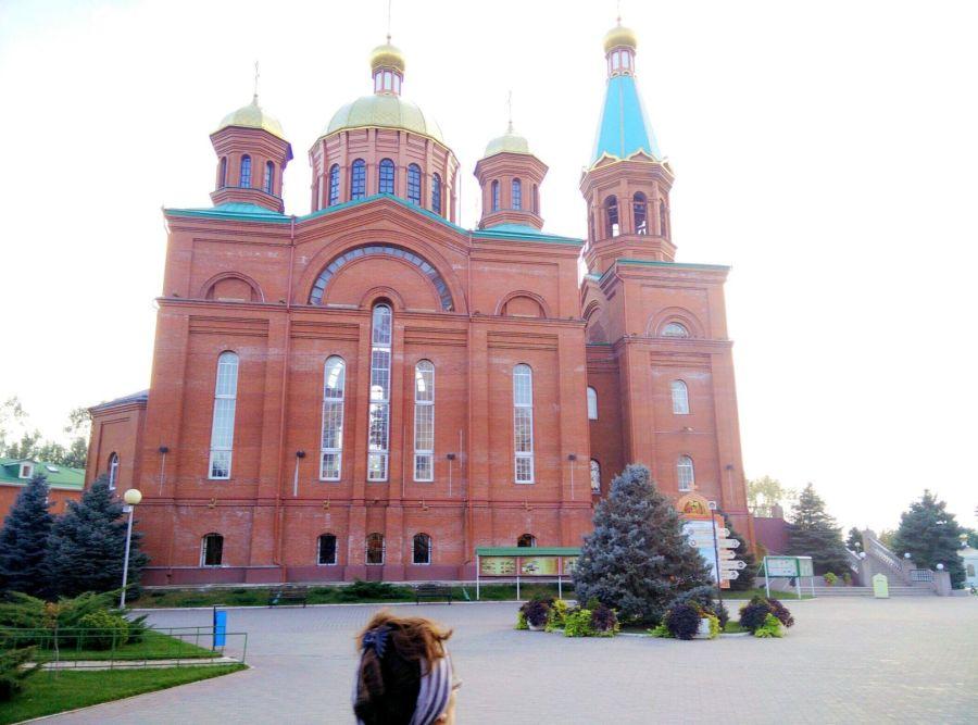 Краснодарская церковь Рождества Христова фото