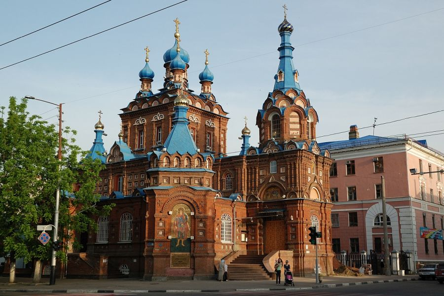 Краснодарский Свято-Георгиевский храм фото