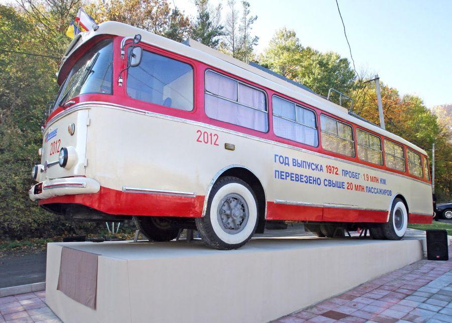 Музей электротранспорта «Крымтроллейбус» фото