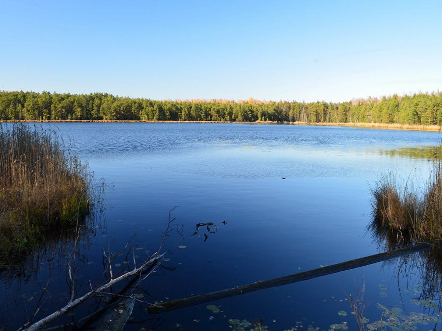 Пейзаж озера Кирек фото