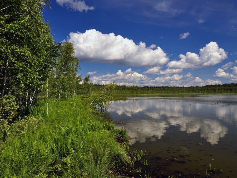 Озеро Шайтан в Кировской области фото