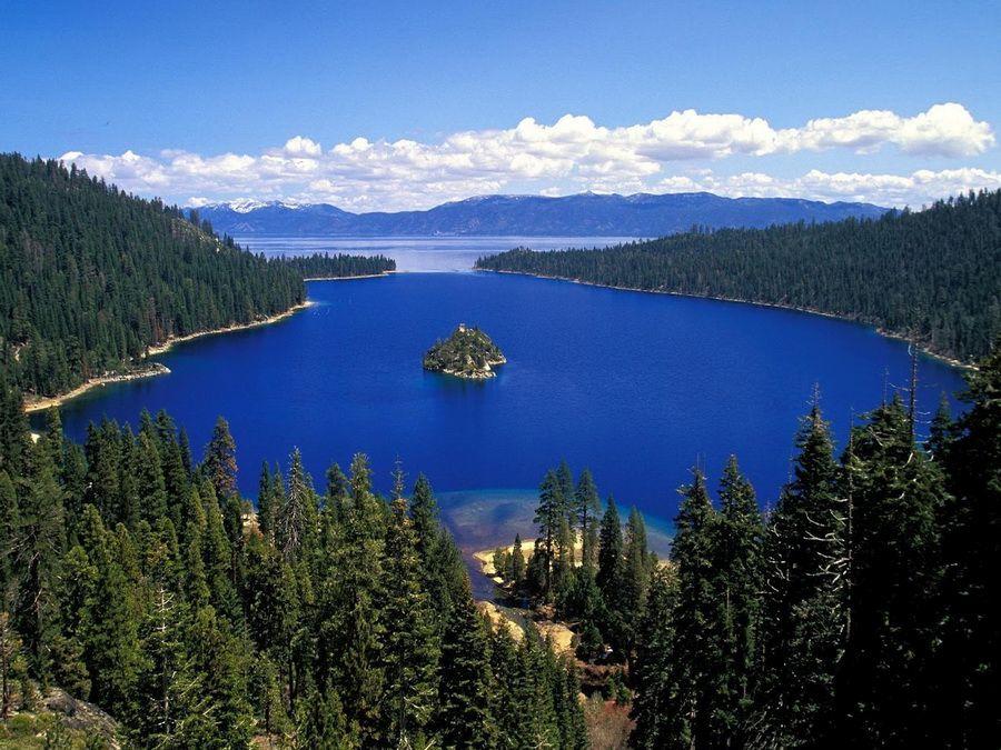 Фото панорамы карпатского озера Синевир