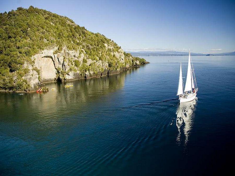 Фото озера Таупо