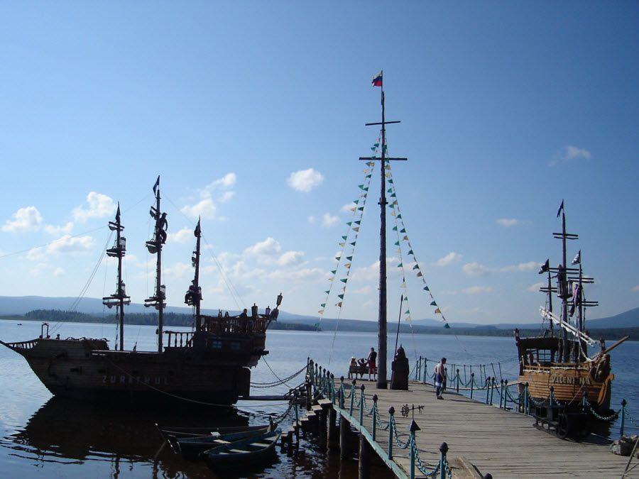 Фото озеро Зюраткуль в Челябинской области