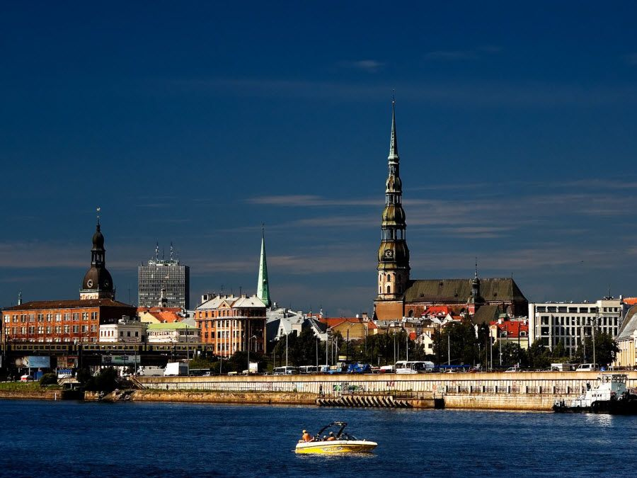 Фото Риги - столицы Латвии