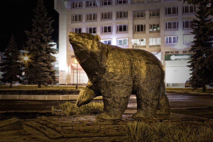 Легенда о пермском медведе фото