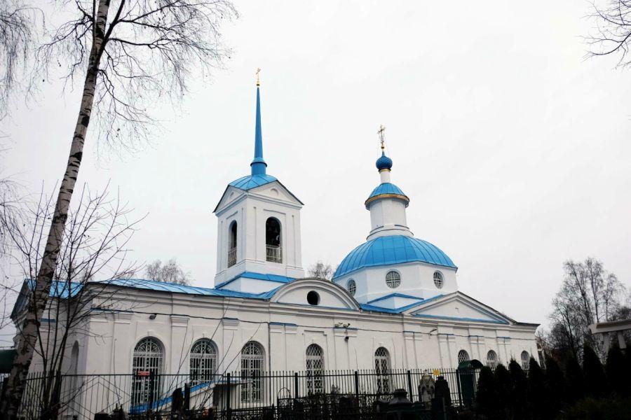 Леонтьевская церковь фото