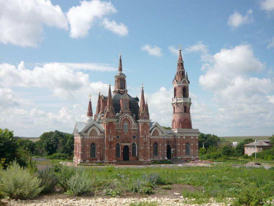 Церковь в Липецкой области фото