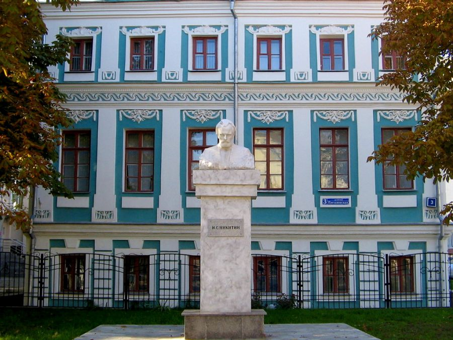 Воронежский областной литературный музеи им. И. С. Никитина фото