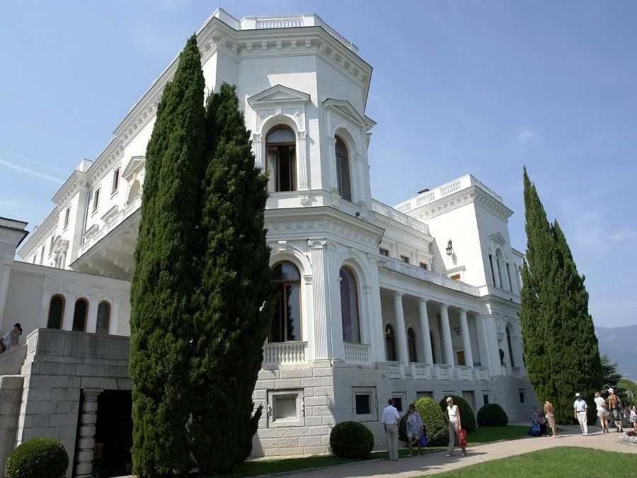 Ливадийский дворец фотография