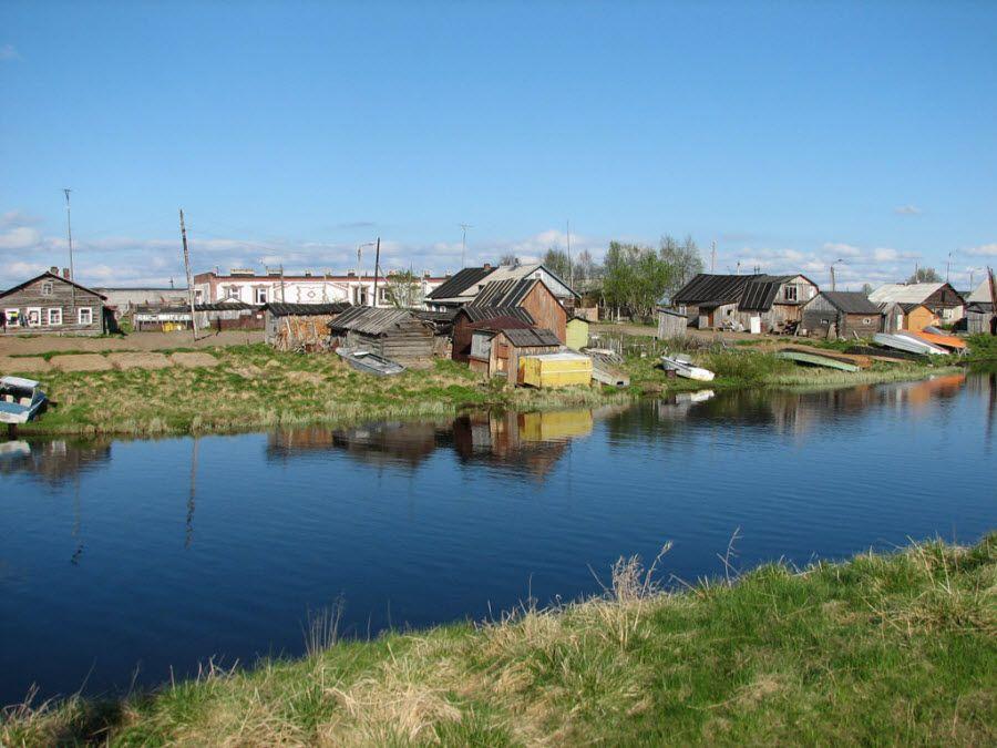 Поселок Ловозеро Мурманской области фото