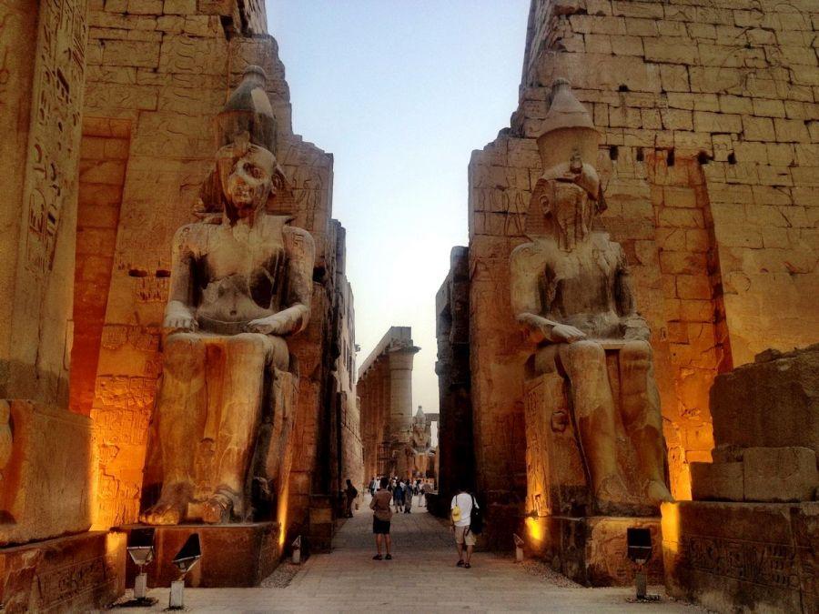 Луксорский храм фото