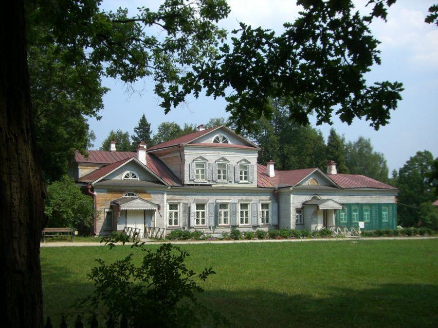 Фото панорама Усадьбы Абрамцево в Московской области