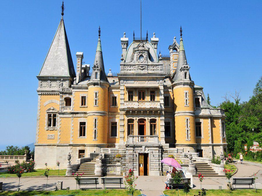 Массандровский дворец фотография