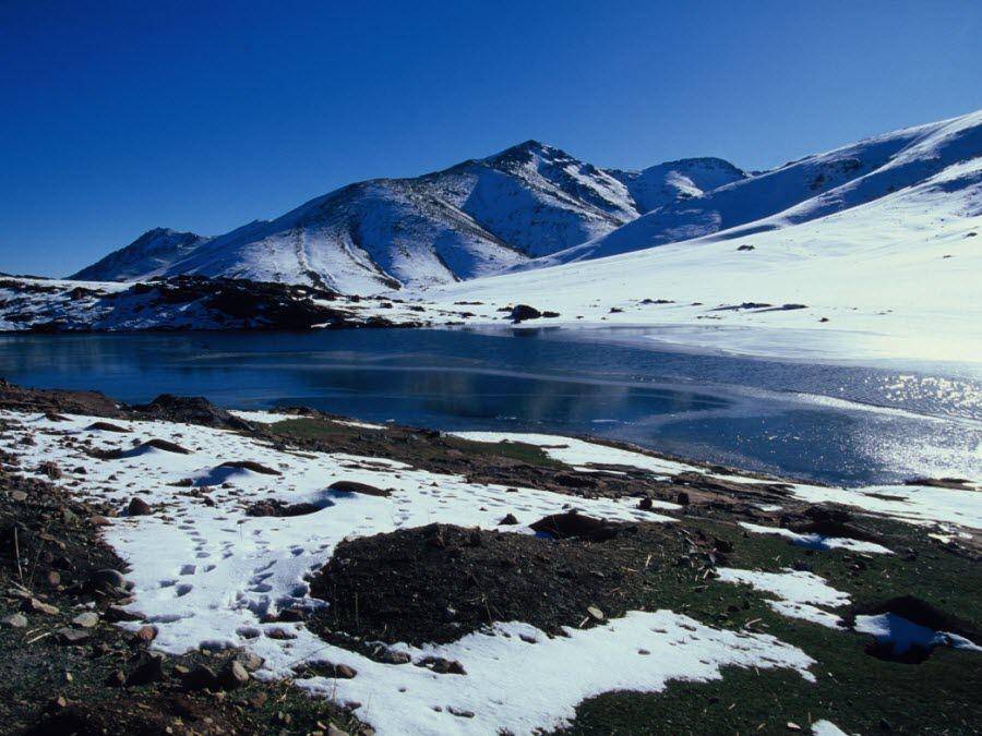 Фото гор Высокого Атласа в Марокко