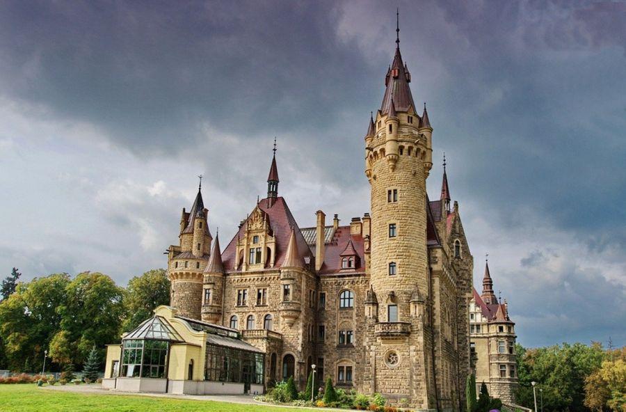 Мошненский замок фото