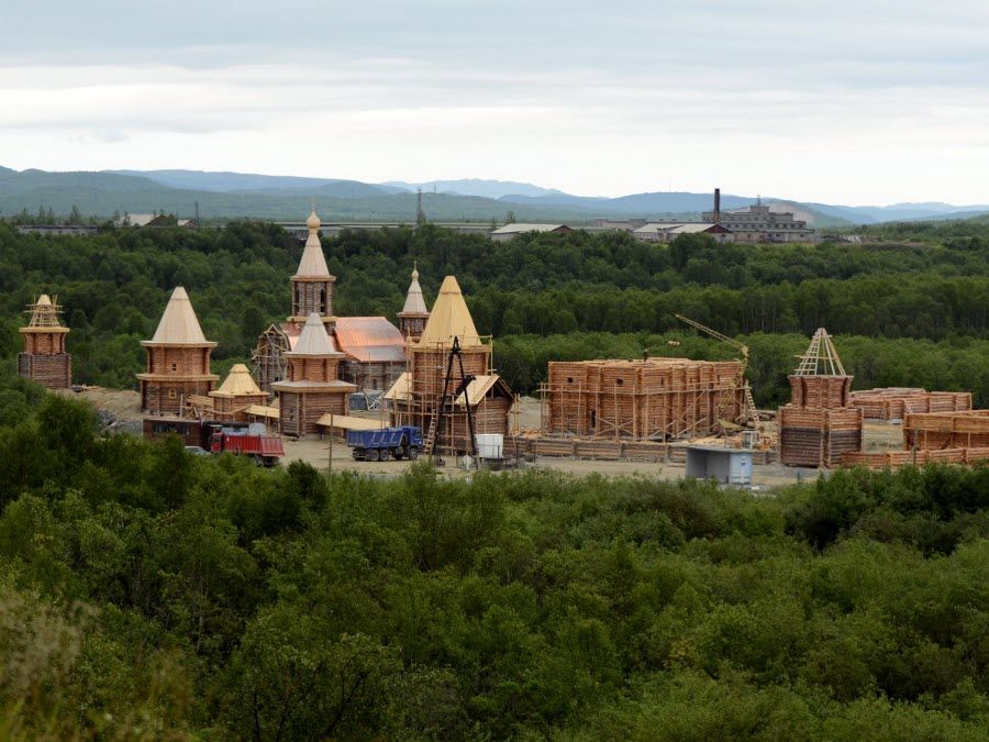 Фото монастыря Мурманской области