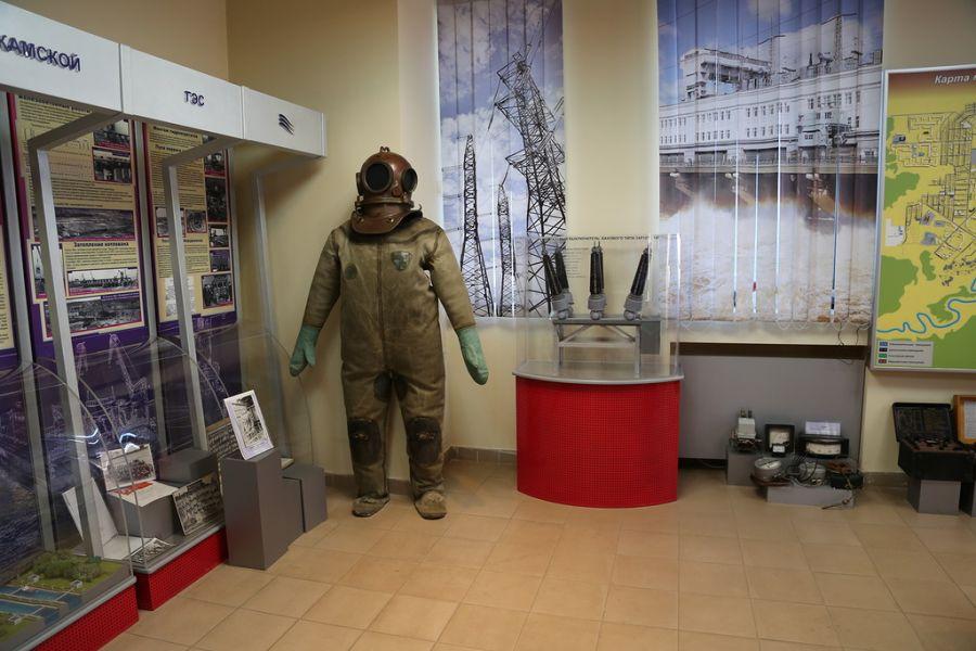 Музей камской ГЭС фото