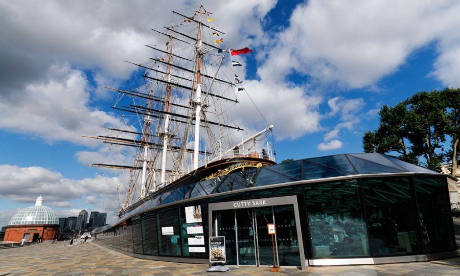 Музей-корабль Катти Сарк фото