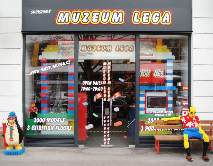 Музей Лего в Праге фото