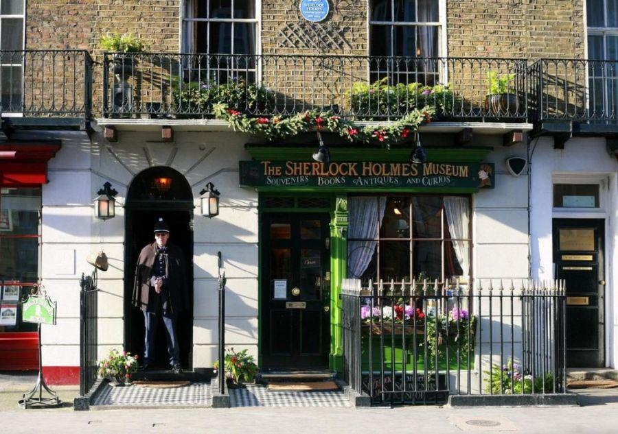 Музей Шерлока Холмса фото