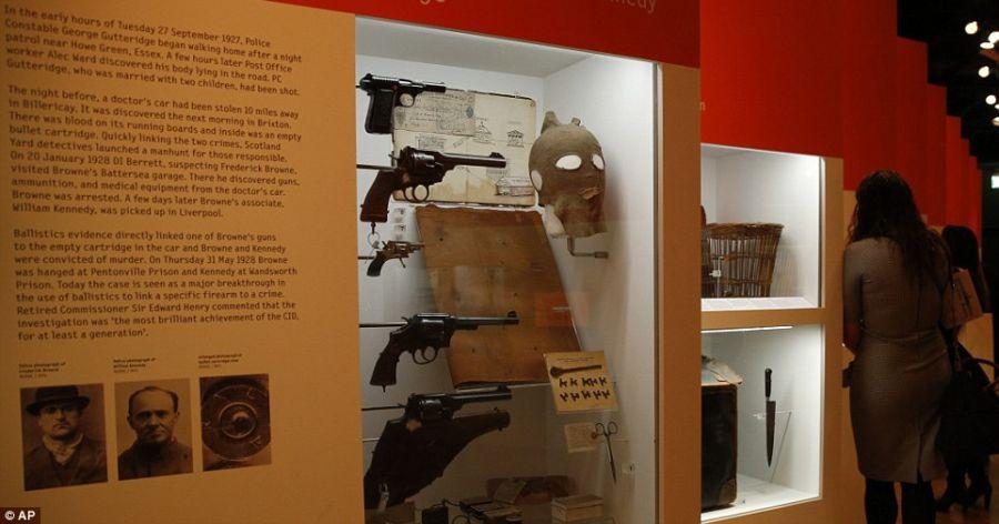 Криминальный музей Скотленд Ярда фото