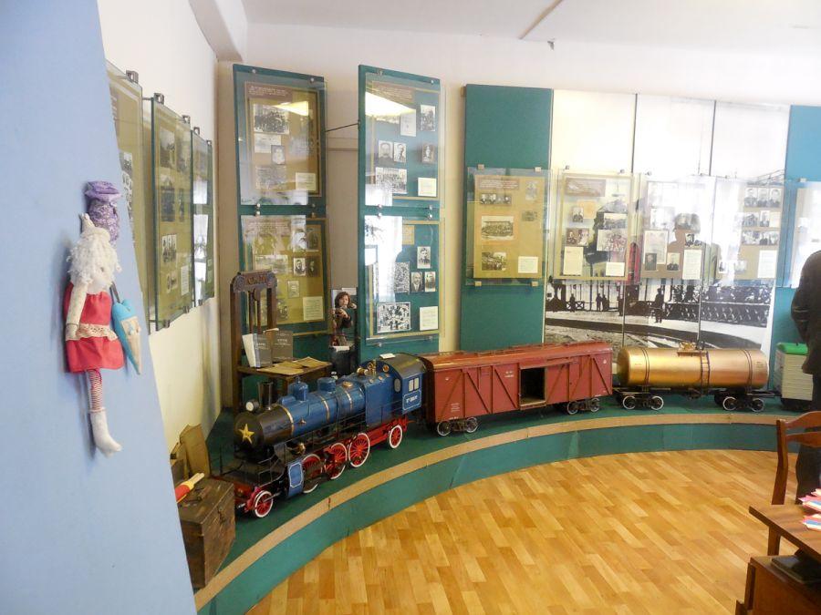 Народный музей волгоградских железнодорожников фото