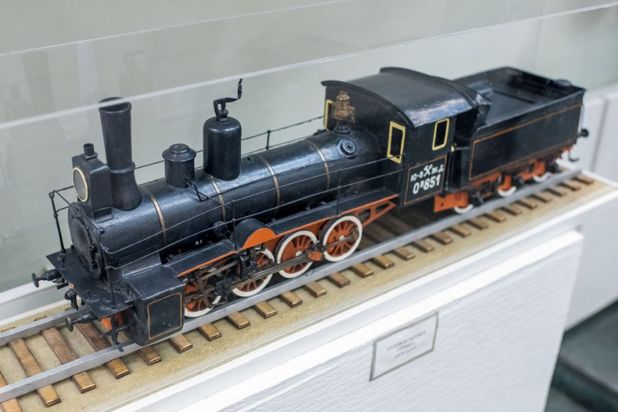 Музей истории Юго-восточной железной дороги фото