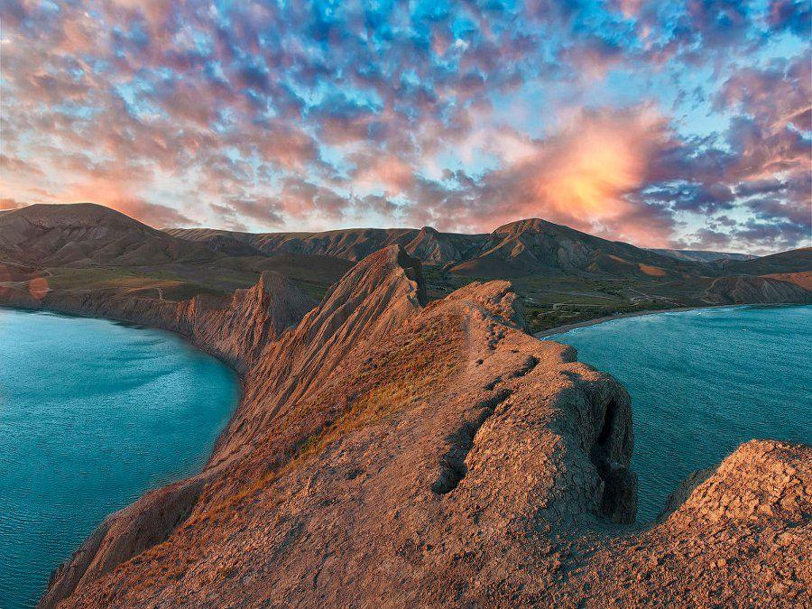 Фото Мыс Хамелеон в Крыму