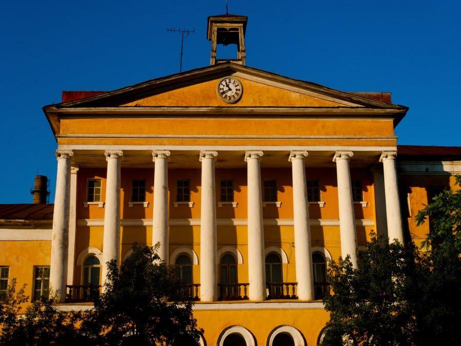 Фото архитектуры города Никольск Пензенской области