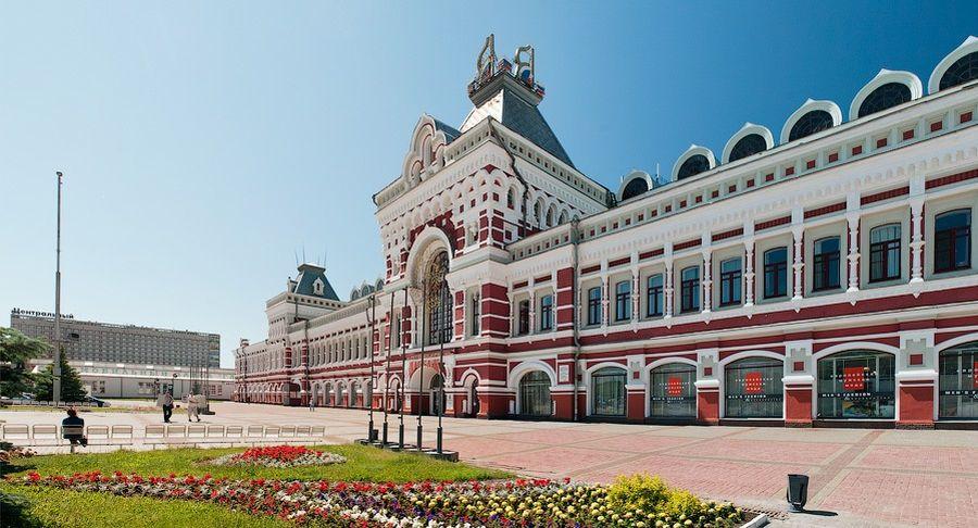 Нижегородская ярмарка фото