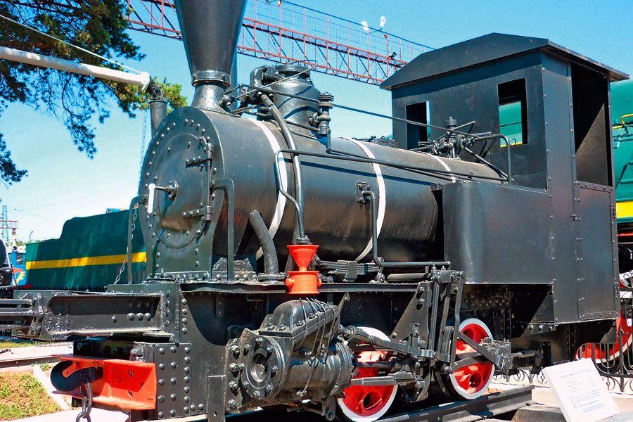 Фотография Новосибирский музей железнодорожной техники