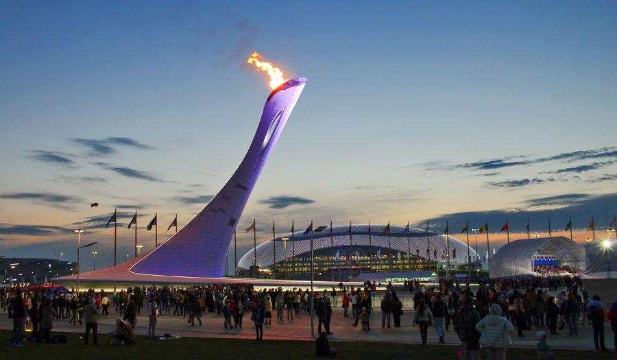 Фотография Олимпийского парка Сочи