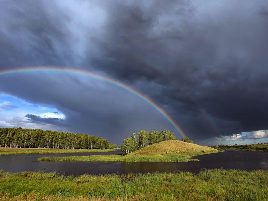 Фото удивительного пейзажа Омской области