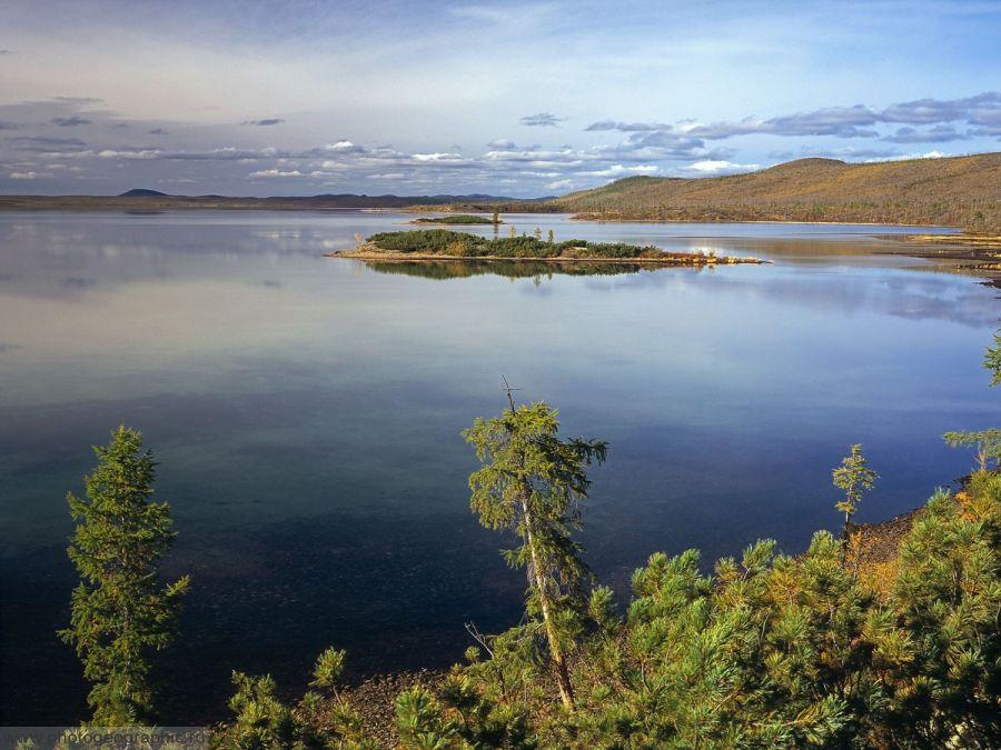 Озеро Лабынкыр фото