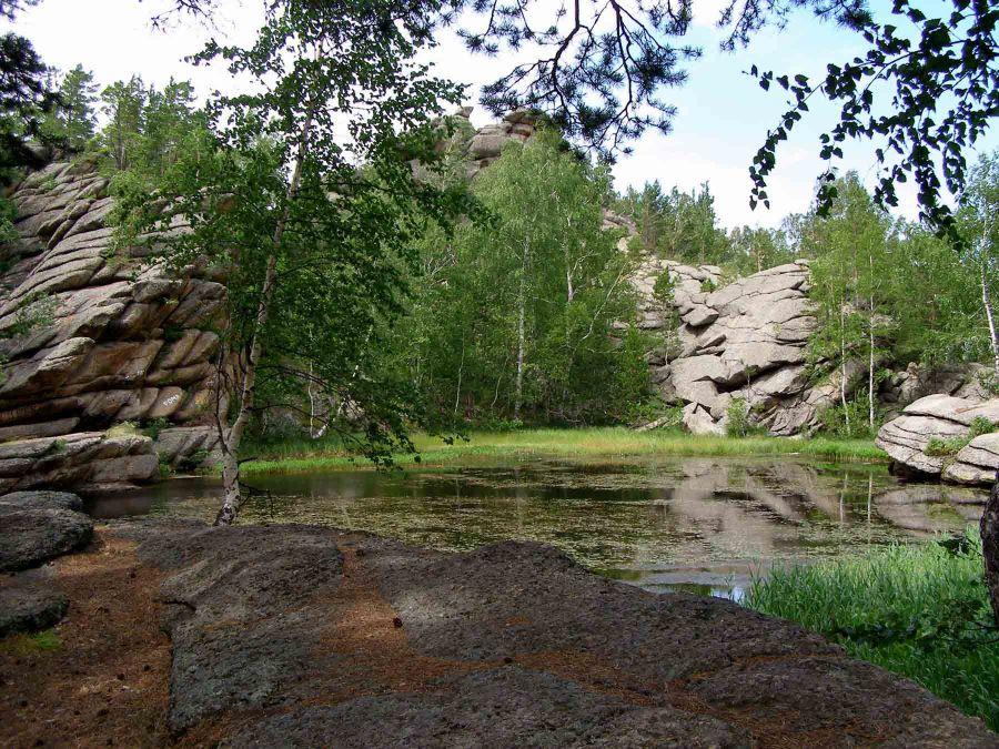 Озеро Моховое фото