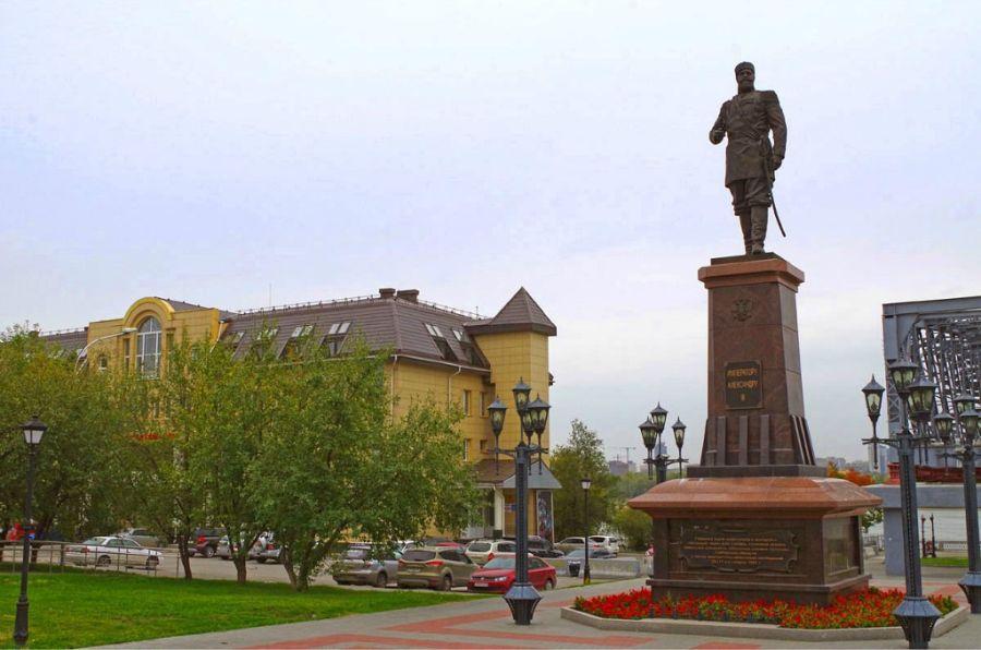 Памятник Александру Третьему фото