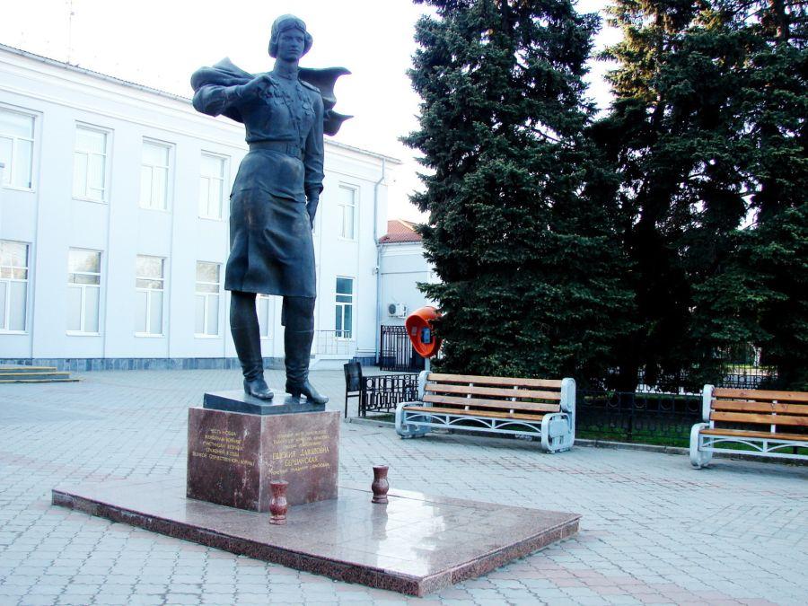 Памятник Е. Д. Бершанской фото