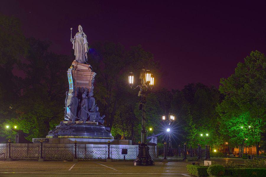 Фотография Памятник Екатерине Второй