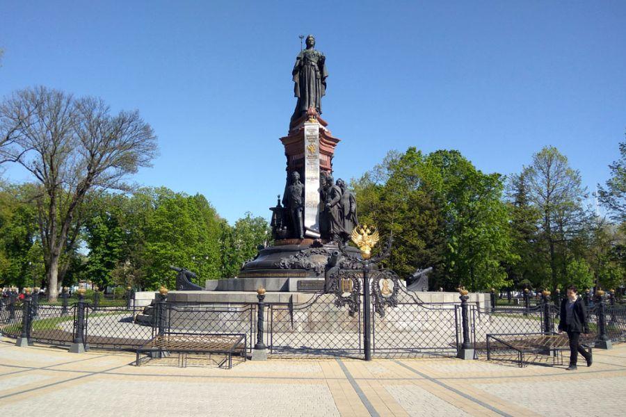 Памятник Екатерине Второй фото